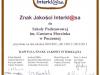 Znak Jakości Interklasa na lata szkolne 2010-2011, 2011-2012, 2012-2013